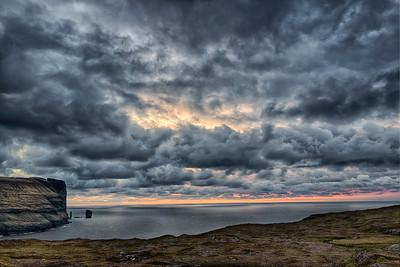 A Faroese Sunset