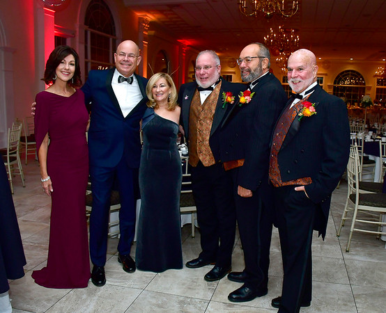 11/16/2019 Mike Orazzi | StaffrMary Lynn Gagnon, Kurt and Jean Barwis, Bob Beaudreau, Bob Alim and Kevin Prior during the Bristol Hospital Ball held at the Aqua Turf Club in Southington on Saturday night.
