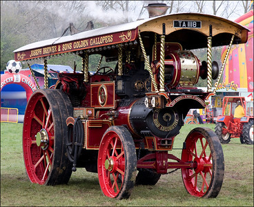 Buses and Steam engines