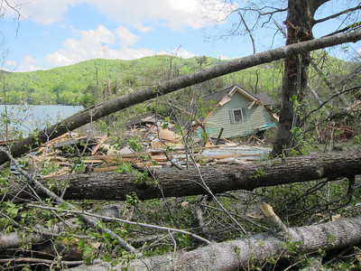 2011 Lake Burton Storm Damage