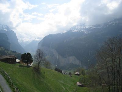 Lauterbrunnen & Wengen - Switzerland (April 2011)