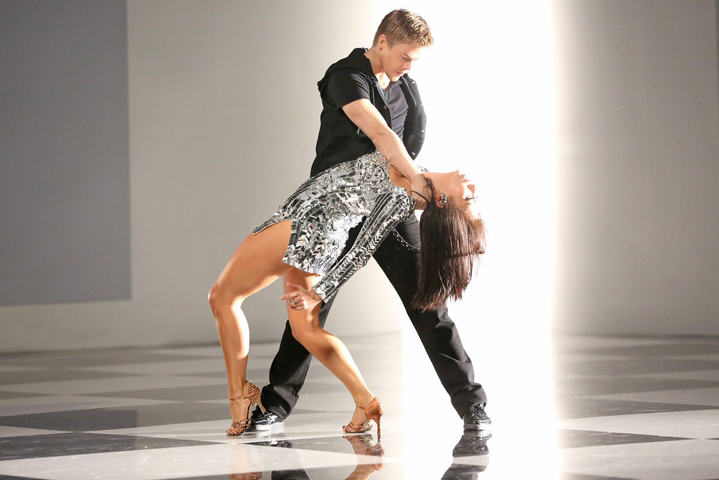 ". Derek Hough and Cheryl Burke from ""Dancing with the Stars.\"" This season\'s dynamic lineup of stars  will perform for the first time on live national television with their professional partners during the two-hour season premiere of \""Dancing with the Stars,\"" on Monday, March 18 (8:00-10:01 p.m., ET) on the ABC Television Network.  (ABC/Adam Taylor)"