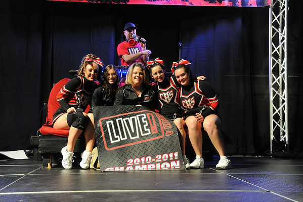 Comp Cheerleaders 2-5-2011