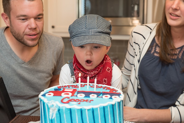 Cooper's 3rd Birthday Party (September 26)