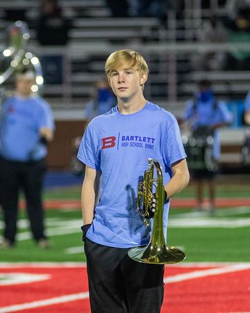 2020-10-02 Bartlett High School Band Part 2