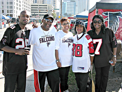 Falcons - Carolina Football Game