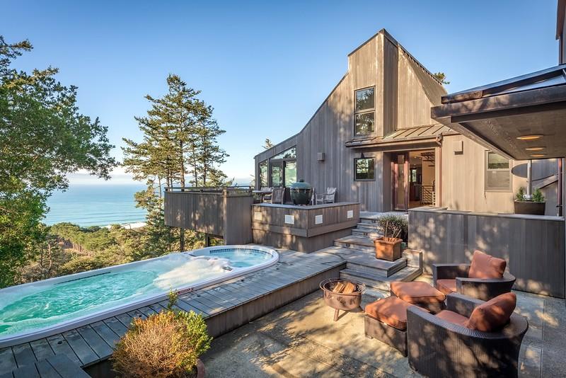 Pool Deck with Ocean Views