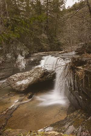 Greeter Falls, South Cumberland State Park 1/20/20