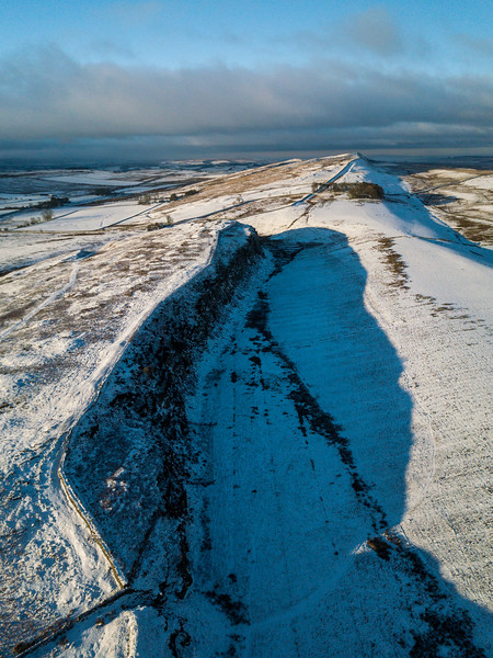 Peel Crags on Hadrian's Wall