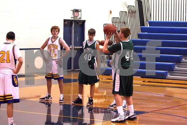 9th grade boys baketball vs seven hills 1/6/11