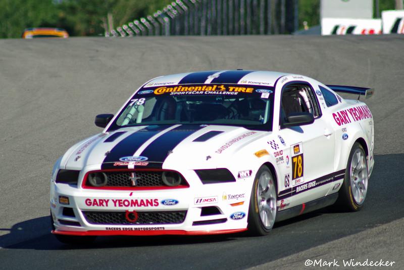 8th GS David Levine/Lucas Bize Mustang Boss 302R