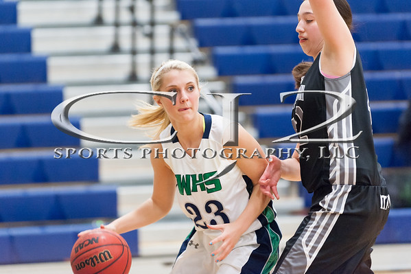 1-30-2015 Dominion at Woodgrove Girls Basketball (Varsity)