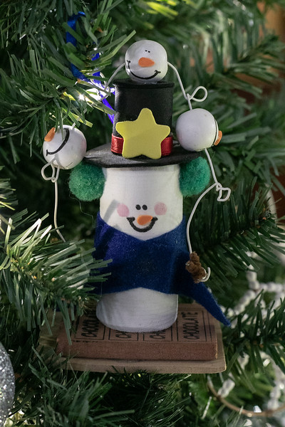 This decorated Christmas tree is called Snow Much Love and was created by the Cutie Patutie's. It is part of this years Festival of Lights at Leominster City Hall. SENTINEL & ENTERPRISE/JOHN LOVE