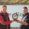 Jack Boyle is pictured with Padraig Mallon. RS1608019
