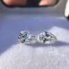 2.49ctw Antique Pear Diamond Pair GIA E VS2/GIA D VS2 1