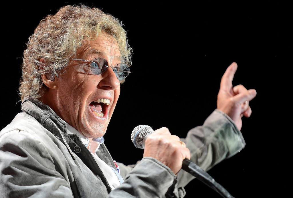 . DENVER, CO. - FEBRUARY 12: Roger Daltrey of The Who performs during their Quadrophenia and More tour stop February 12, 2013 at the Pepsi Center in Denver.  (Photo By John Leyba/The Denver Post)