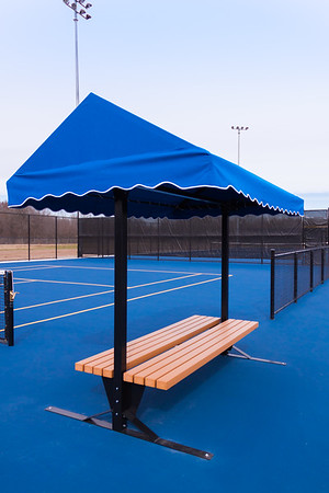 New Tennis Courts Spring 2019