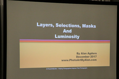IPG Presents - Alan Agdern Luminosity Masks 12/11/2017