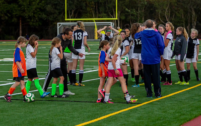 To halftime, Set five: Girls Varsity Soccer v Cascade Christian 09/25/2018