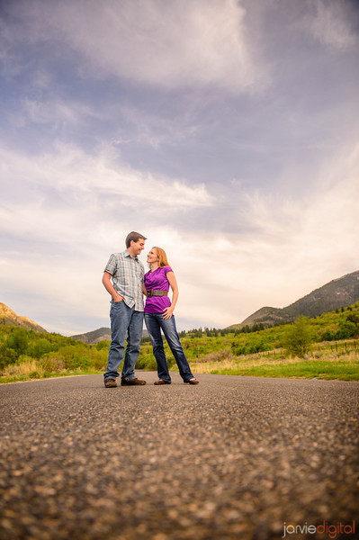 Engagements in Payson Canyon