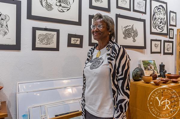 Theodora Moorehead's Art Show