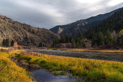 Salmon River area of Idaho