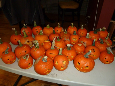 Mini Pumpkins attack!