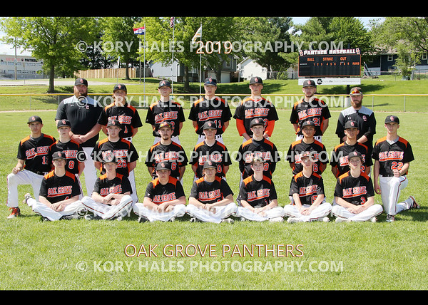 2019 OGHS Baseball