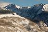 W. Partner Peak seen from Vail Mtn, CO
