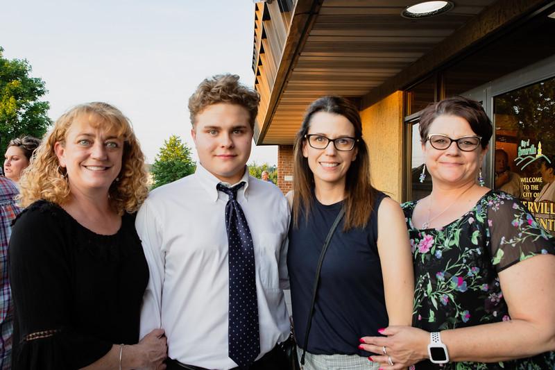 Joseph with his Aunts