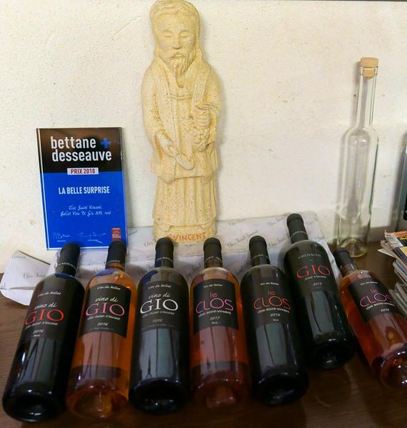 The wines