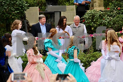 3/16/18 59th Annual Azalea & Spring Flower Trail Ribbon-Cutting by Jim Bauer	and Sarah A. Miller