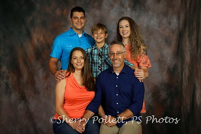 Norris Family  - PROOFS  2017