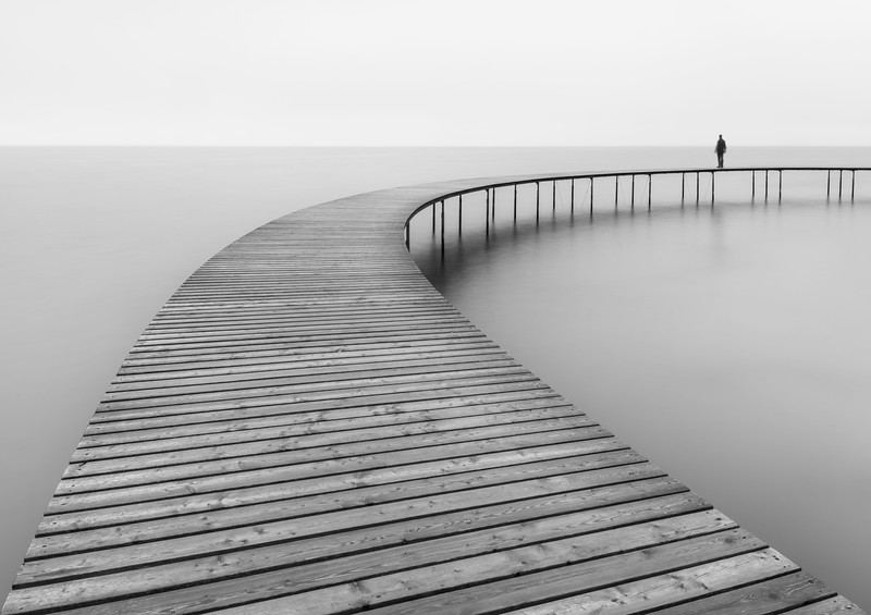 Moody 2 fine art pier infinite bridge aarhus photography_1.jpg