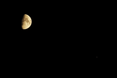 Měsíc a Mars 18. 10. 2018