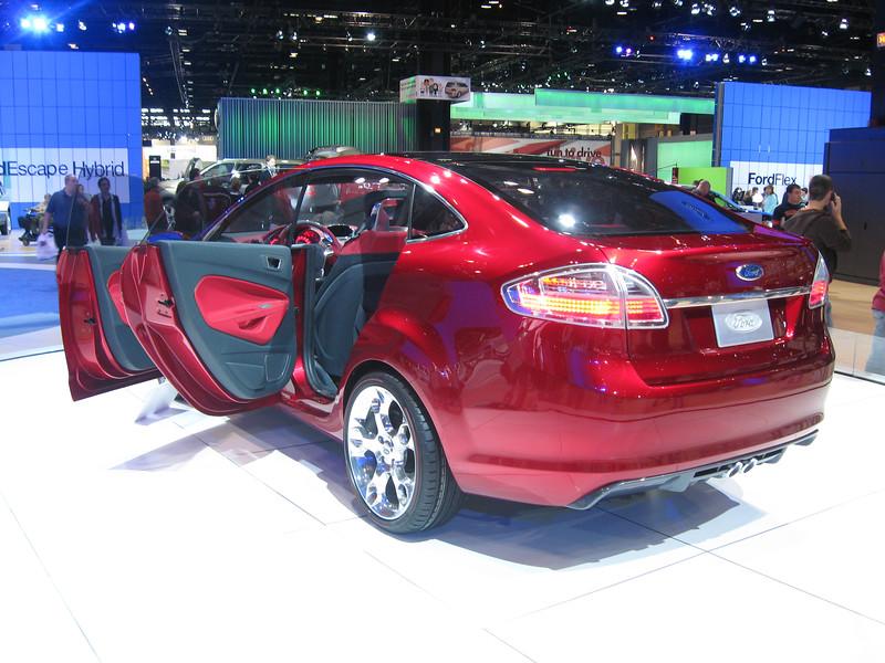 Concept car: Ford Verve