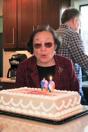 Amy's 80th Birthday