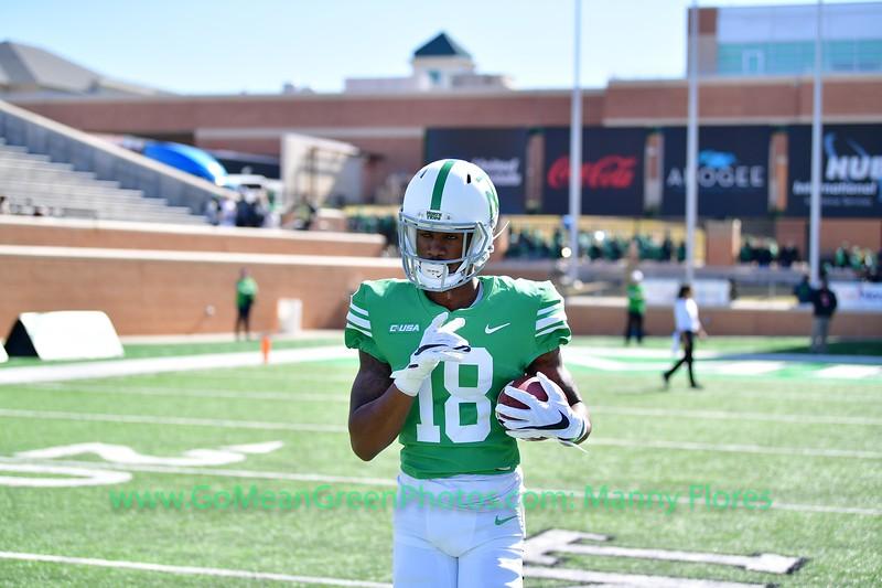 2019 NCAA Football: UTEP vs Mean Green NOV 2