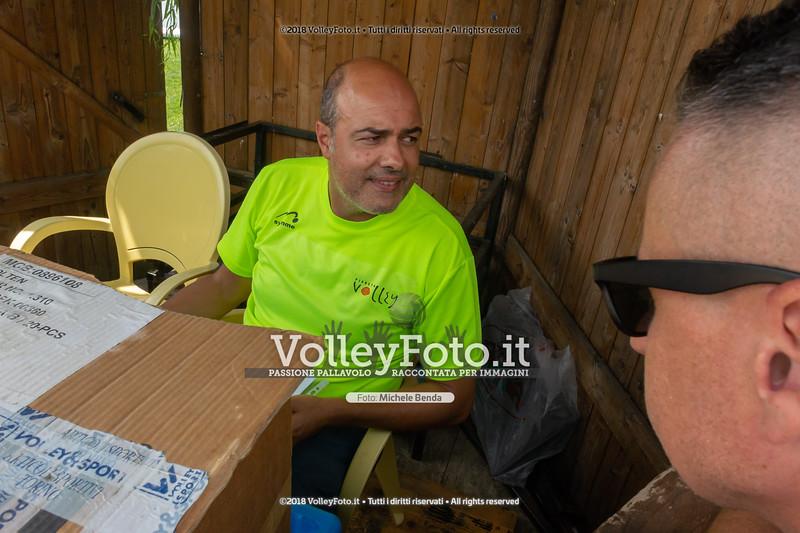 """5ª Edizione Memorial """"Claudio Giri"""" presso Zocco Beach San Feliciano PG IT, 25 agosto 2018 - Foto di Michele Benda per VolleyFoto [Riferimento file: 2018-08-25/_DSC2411]"""