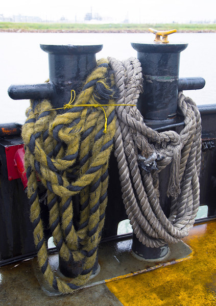 Ferrel mooring ropes