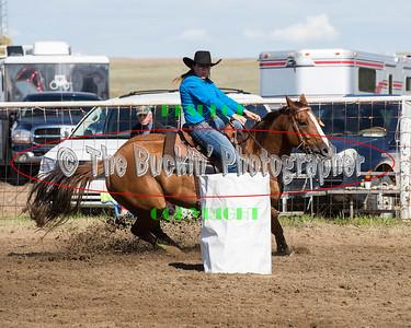 Irvine Rodeo 2014 Barrel Racing Slack