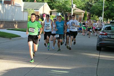 Start - 2014 Clawson Freedom Run 5K