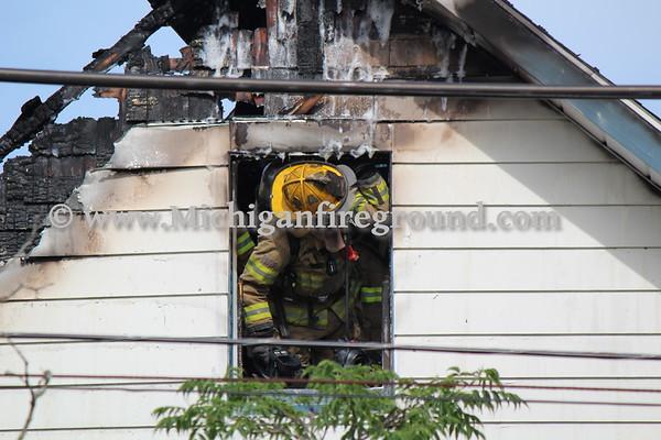 6/14/18 - Jackson house fire, 1111 S. Jackson