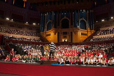 Barnardos Concert 5th Nov 2013 R Albert Hall, Rehearsal and Concert