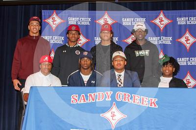 Sandy Creek Signings 12-18--19