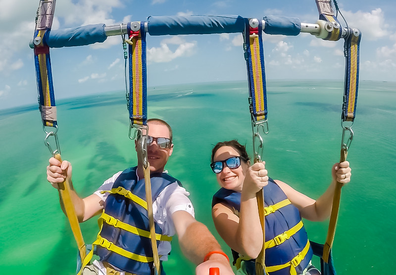 Key West Parasailing - Divergent Travelers