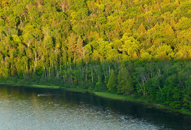 Row Your Boat - Lake of The Clouds (Porcupine Mountains State Park - Upper Michgain)