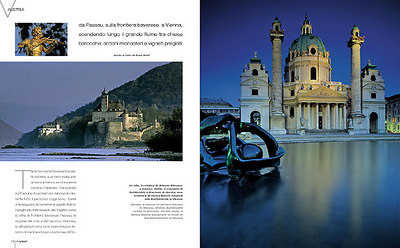 VOYAGE (Italy): Along the Austrian Danube (travel feature)
