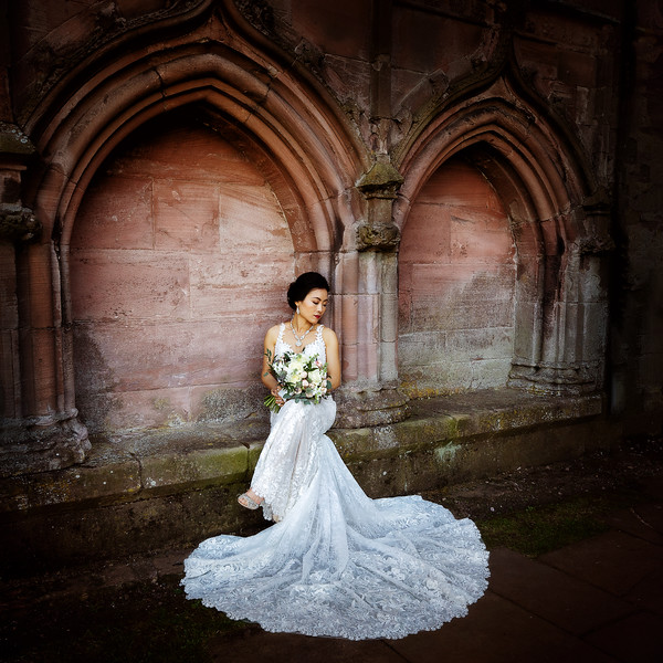 Melrose Abbey Wedding Photography