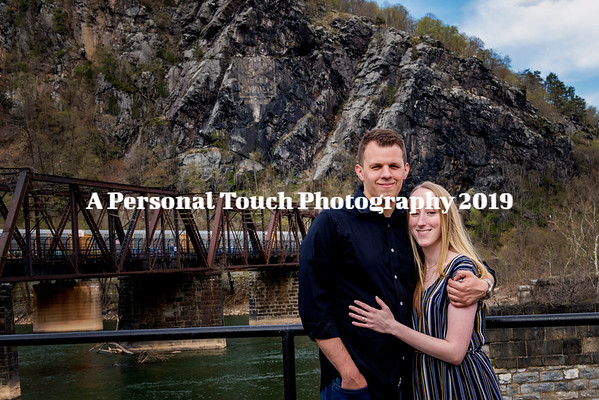 Victoria and Yannick's engagement pictures